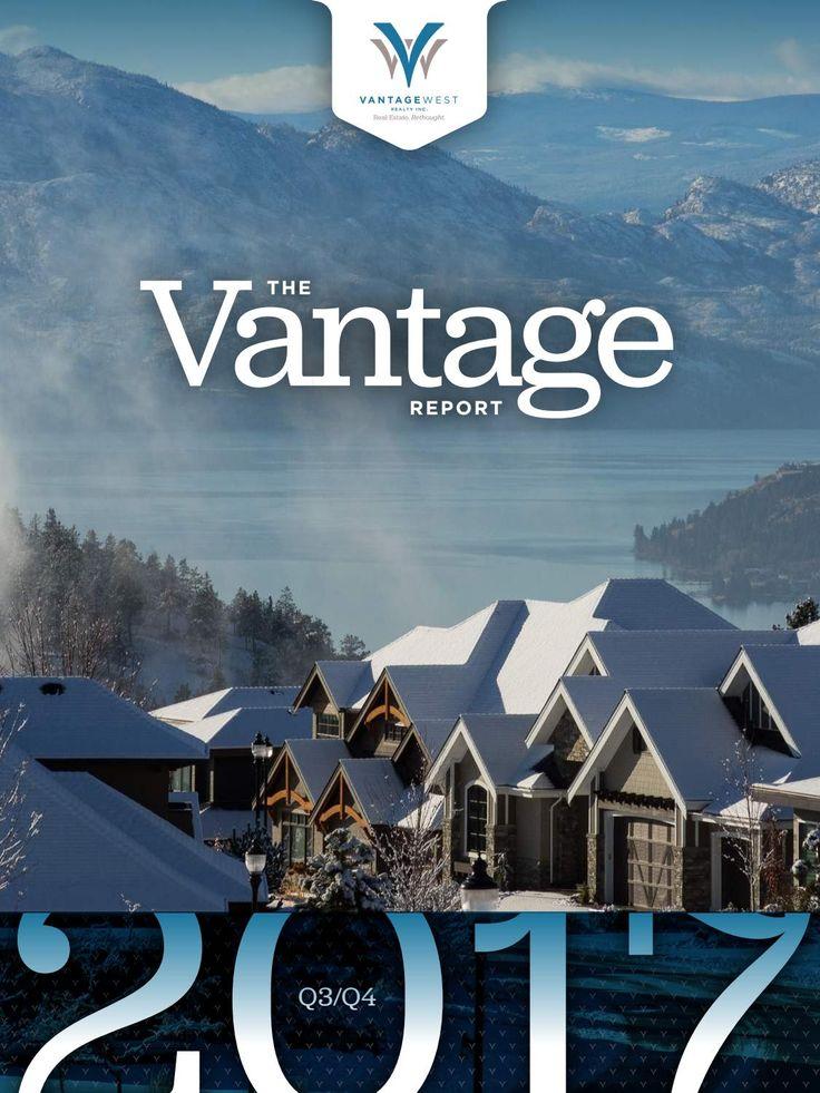 The Vantage Report 2017 Q3-Q4 Kelowna Real Estate