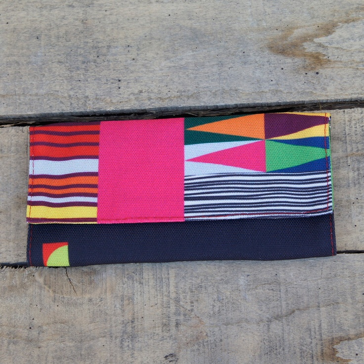 "A tobacco pouch with a modern design and vibrant colors to make sure that no one will ever take your tobacco ""by accident"" again."
