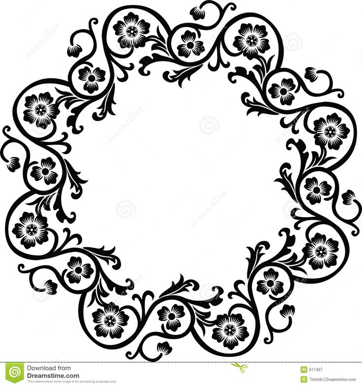 very decorative frame illustration - Google Search