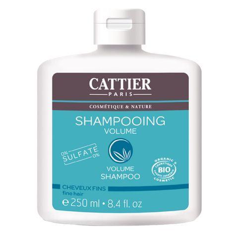 Le Shampooing Volume de CATTIER a été spécialement développé sans sulfates pour un nettoyage en douceur, une nutrition intense et pour donner du corps aux cheveux fins dès la racine pour une masse capillaire plus dense.  Il possède un complexe volumateur (huile d'abyssinie et phytostérols) qui gaine et restructure les cheveux fins pour un effet volume immédiat. La chevelure, souple et aérienne, est visiblement plus abondante et épaisse.