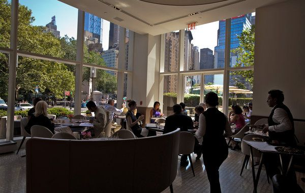 Nougatine at Jean Georges on Columbus Circle (and Central Park) in Manhattan. Photo: Ángel Franco/The New York Times
