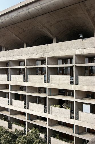 Palace of Justice - Chandigarh - Le Corbusier #geometry #harmony