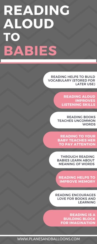 Benefits of reading to babies are way too wonderful to be ignored. Learn more and then pick a book and read to your little one!