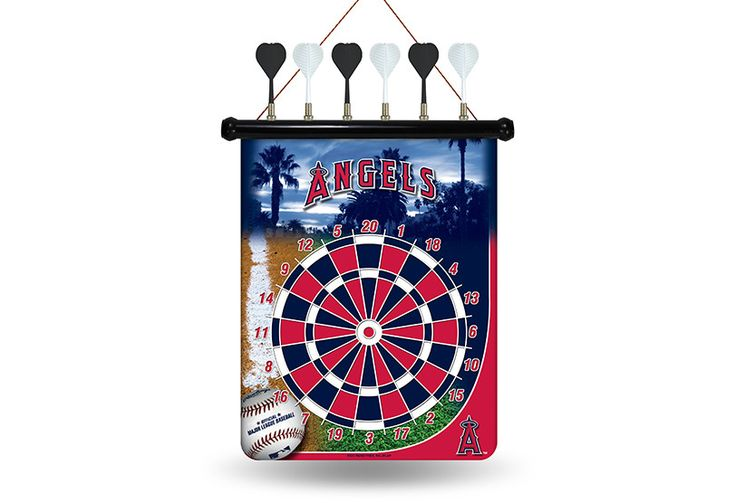 MLB Los Angeles Angels Magnetic Dart Board