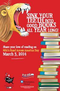 Celebrate Read Across America Day on March 3. #LovinLiterature #FLVS