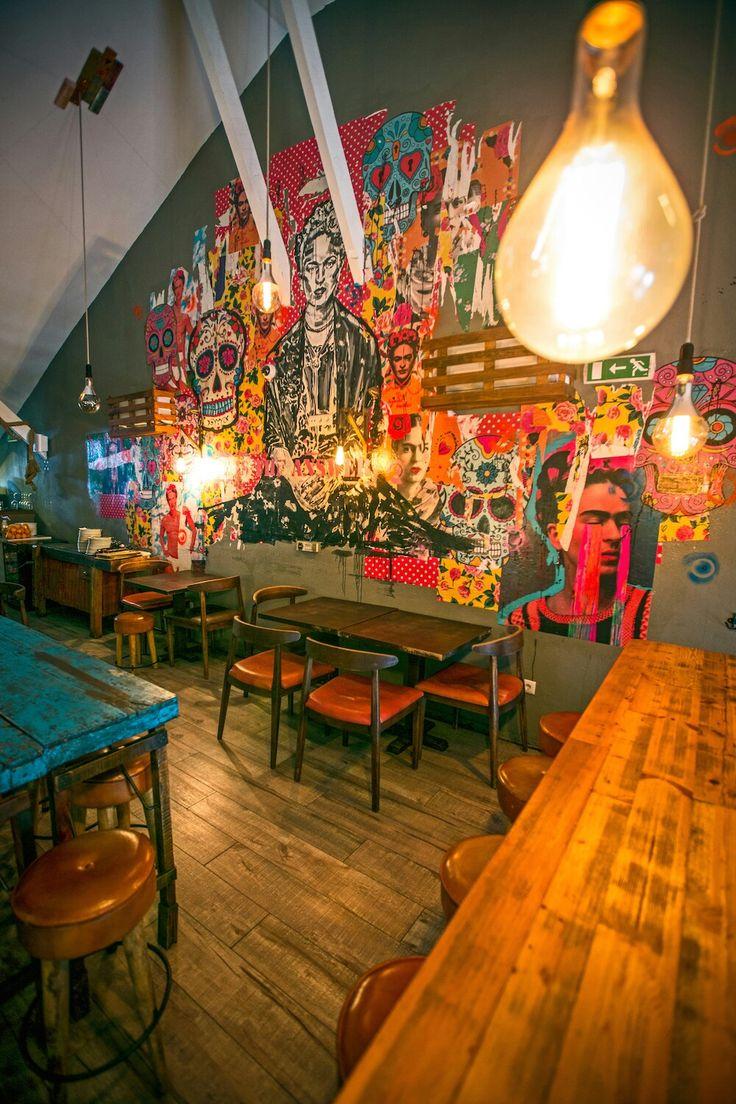 Restaurante El Clandestino em Lisboa.   #mercadinhodovintage