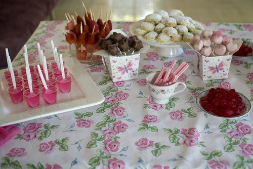 Heart Cake Pop Tea Parties Girl Party Foods And Party Ideas