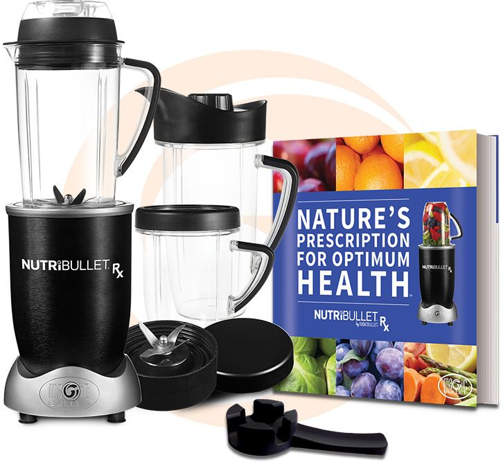 Nutribullet Rx Comes With The Nature 39 S Prescription For