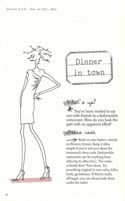 Parisian Chic: A Style Guide by Inès de la Fressange | Dinner in Town