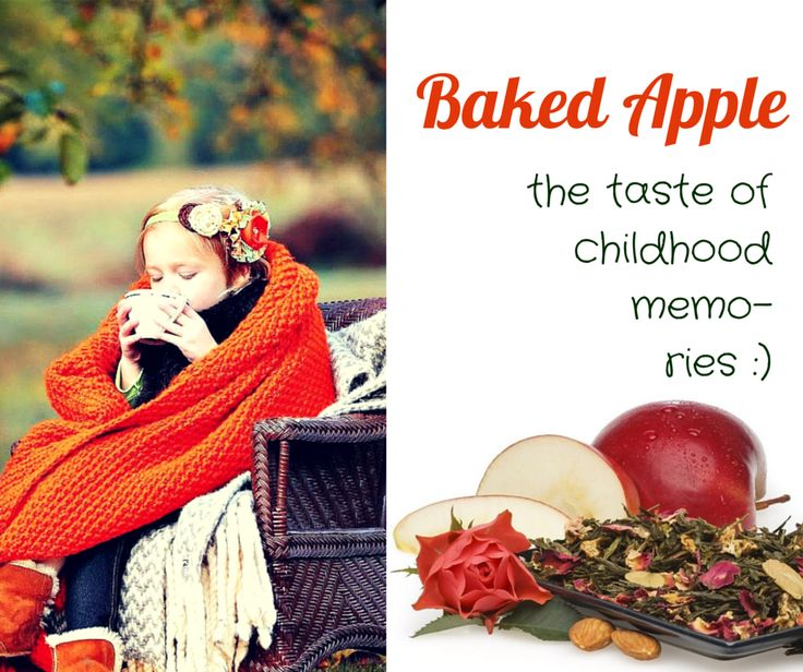 If you carry your childhood with you, you never become older. Return to inocence with a cup of Baked Apple >>> http://www.rivertea.com/baked-apple-green-tea