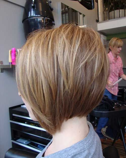 15  Back Of Bob Haircuts... KEEP in mind when you want that cute bob style-- the back can get WeIrD!