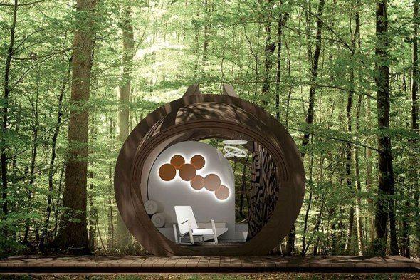 Las cabañas, estructuras diminutas que proporcionan un lugar de escape, han servido durante mucho tiempo como refugios de ensueño para mentes creativas.