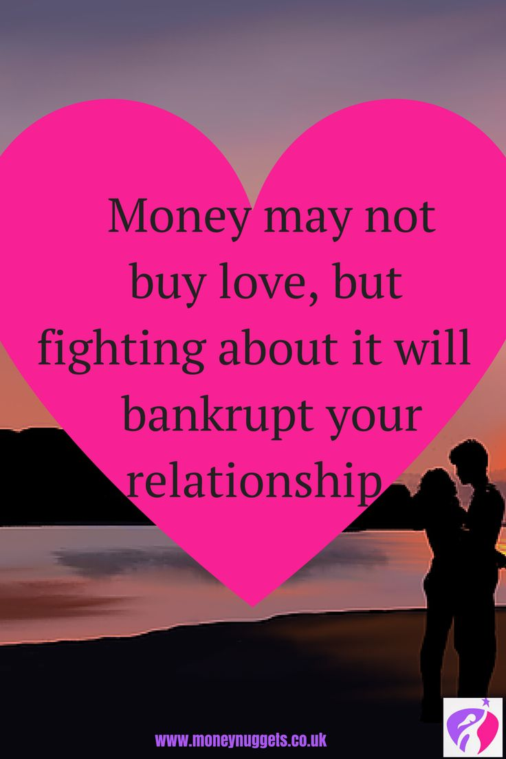 relationship and money issues