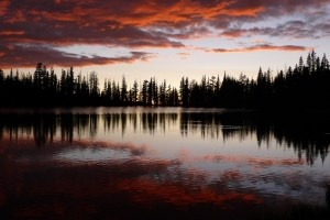 Sunset at Sunrise Lakes in Yosemite... Nature's beauty at her finest.
