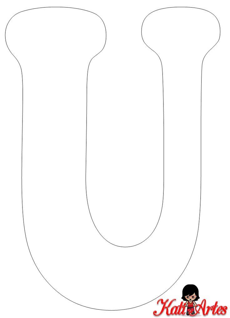Este alfabeto es genial para usar como plantilla para hacerlo a tu gusto.