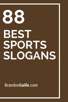 88 Best Sports Slogans