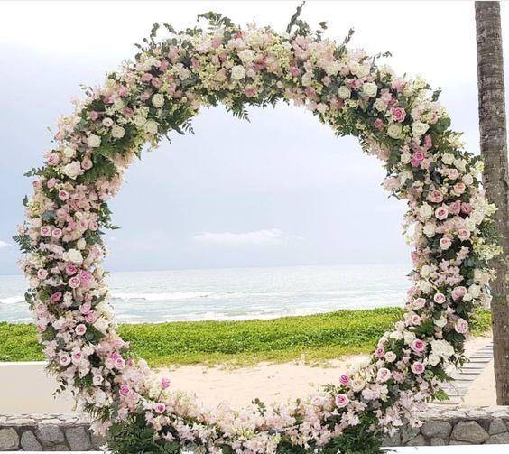 Wedding Arbor Circle: Best 25+ Metal Arch Ideas On Pinterest