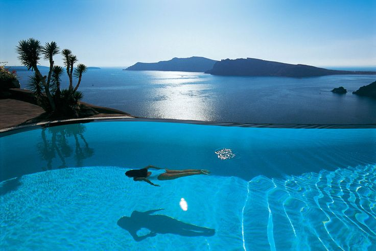 Perivolas, Oia, Santorini, Greece -->  With a stay at Perivolas in Tholos (Oia), you'll be convenient to Naval Museum and Oia Castle. This 5-star hotel is within close proximity of Baxedes Beach and Cape Columbo Beach.