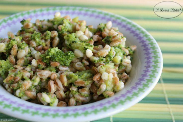 #Farro con #broccoli #ricetta #foodporn #gialloblogs