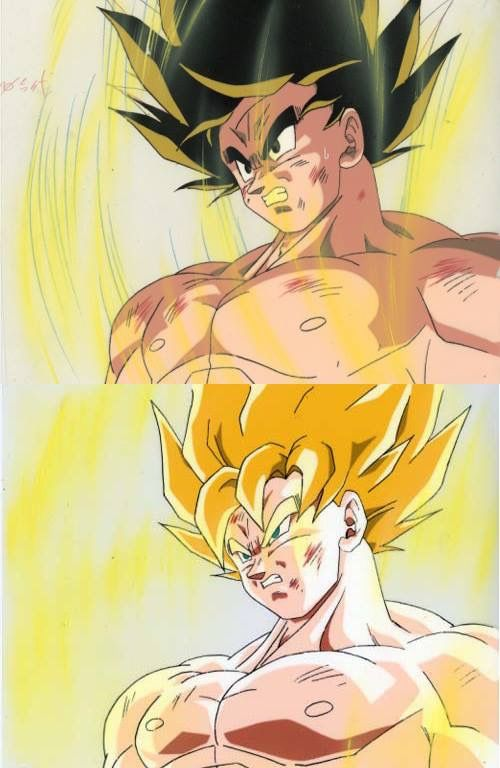 Cellulos Goku Super Saiyanjin