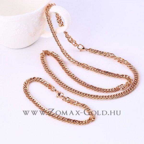 Barna szett - Zomax Gold divatékszer www.zomax-gold.hu