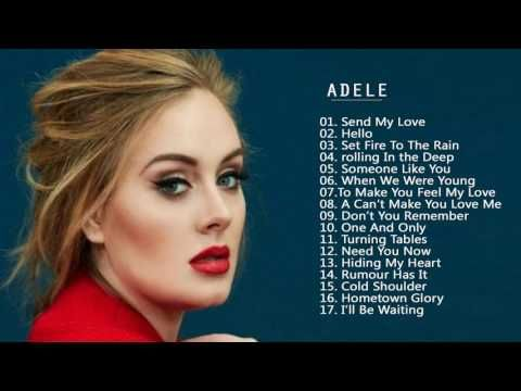 Adele greatest hits cover 2017 - best songs of adele collection 2017 - YouTube