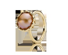 Pandora Ring 14K Golden Lace w/Gold Composite Pearl LOVE this!  Tyler mall!Full Pandora, Pandora Pandora, Pandora Gold, Pandora Jewelry, Beautiful Rings, Gold Rings, Danishes Jewelry, Pandora Rings, Accessories