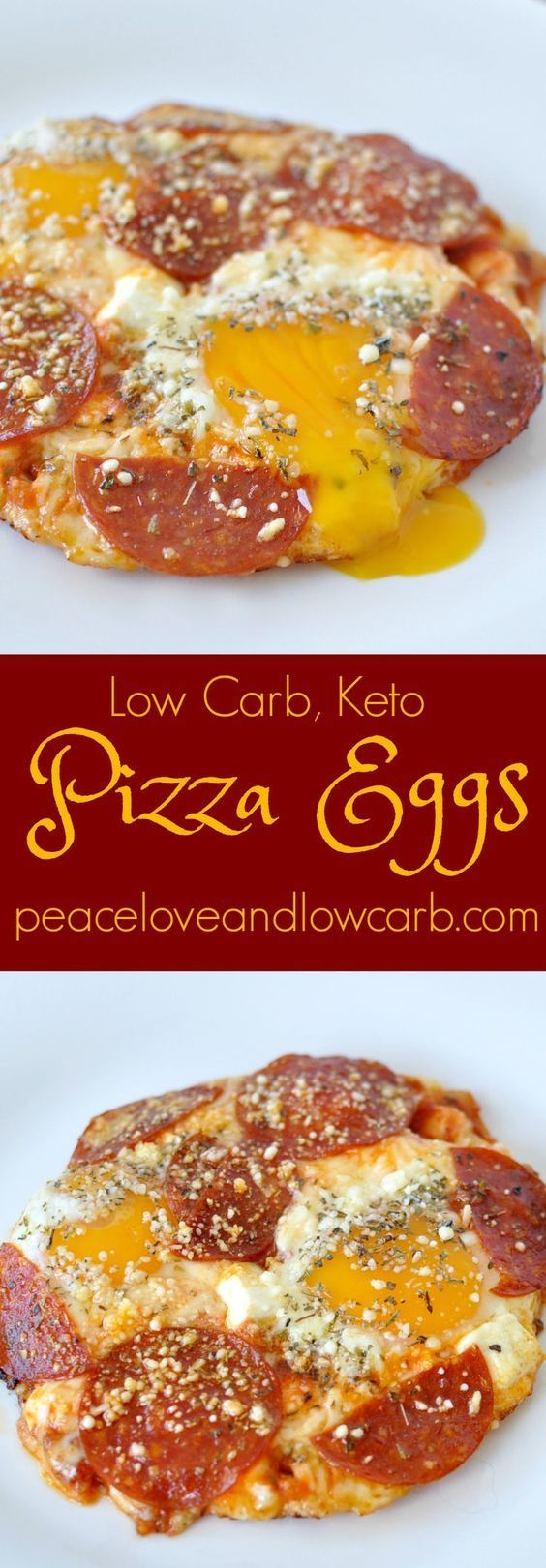 Pizza Eggs - Low Carb, Keto | Peace Love and Low Carb