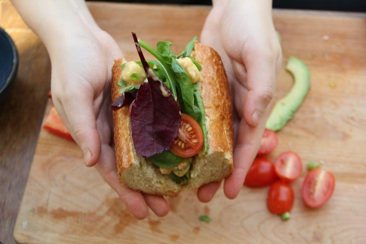 Californian Prawn Sandwich By Grub Garden, YouTube