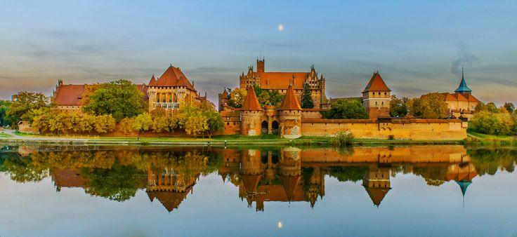 The teutonic castle in Malbork, Poland