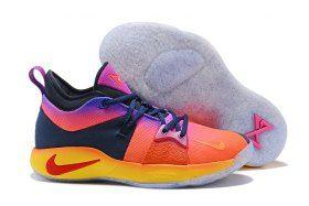 b2853fb1b9080 Romantic Nike Paul George PG 2 Summer Multi-Color Men's Basketball Shoes  Male Sneakers