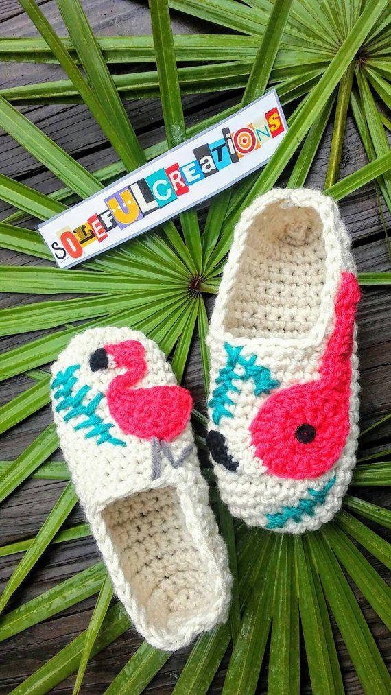 e83d78d8ac1f Florida Flamingo Slippers