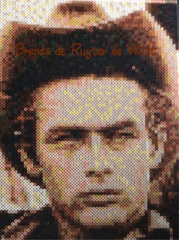 James Dean 30x45 cm 5400 strijkkralen