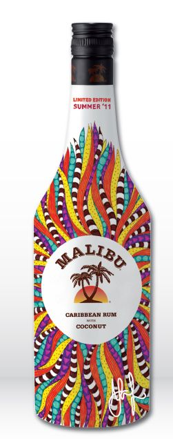 Malibu bottle Summer 2011