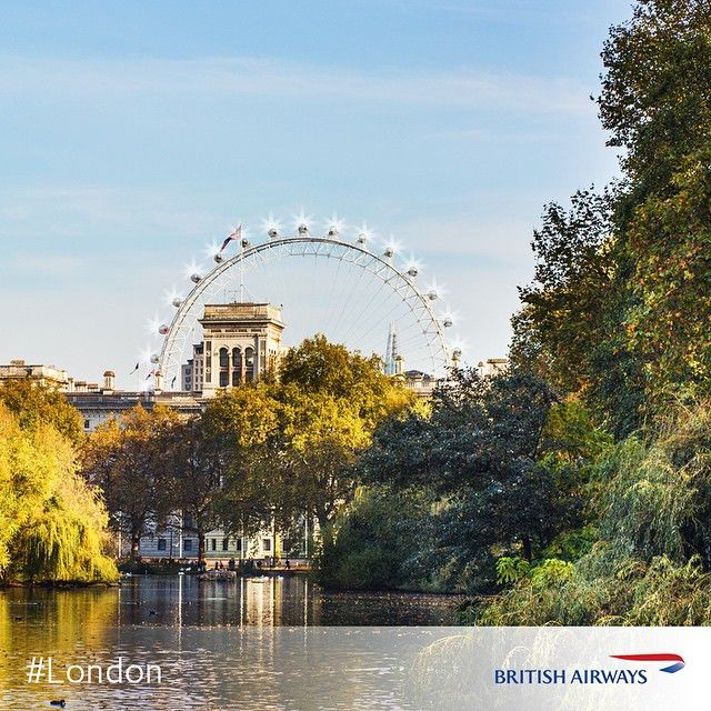 Winter is settling in around #London and the parks have a festive glow to them. Who will you be taking a leisurely stroll with around the parks this December?