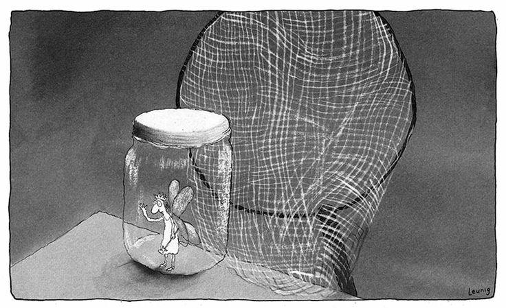 Fairy - Michael Leunig cartoon