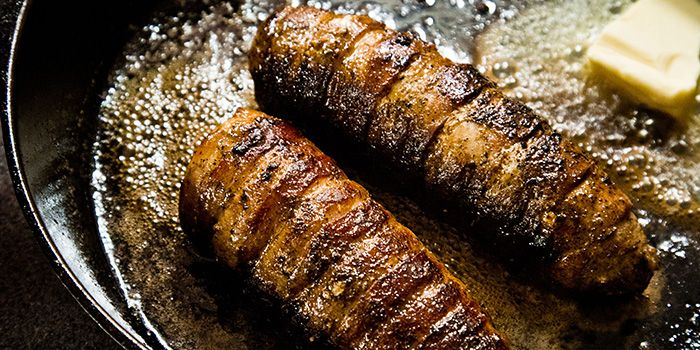 A fantastic way to make bacon wrapped Venison loin for that perfect date night or night in at camp!