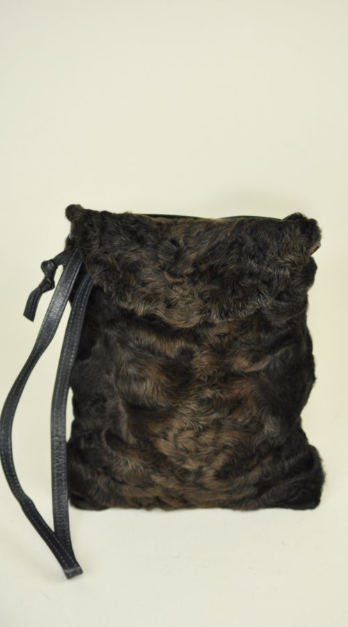 Borsa in persiano karakul  www.amifur.it