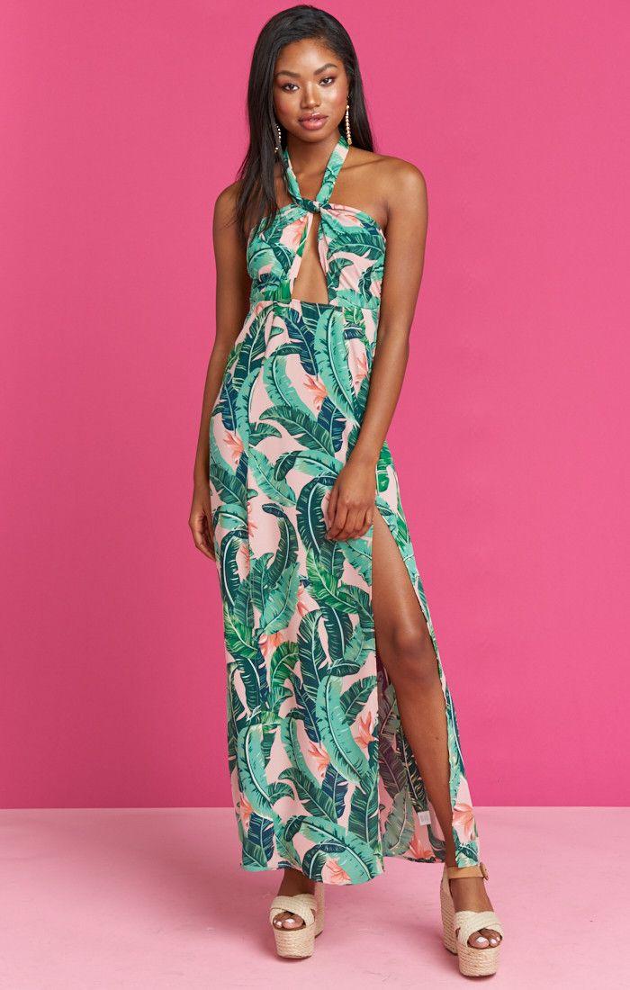 Millie Maxi Dress Beverly Barbie Show Me Your Mumu