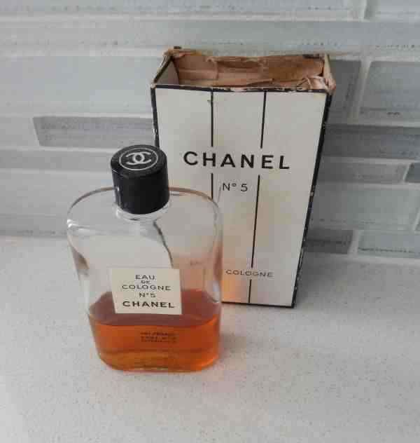 1952 Chanel No. 5 Cologne marilyn Monroe Bottle in Famous Ad - Smaller version 1 #CHANEL