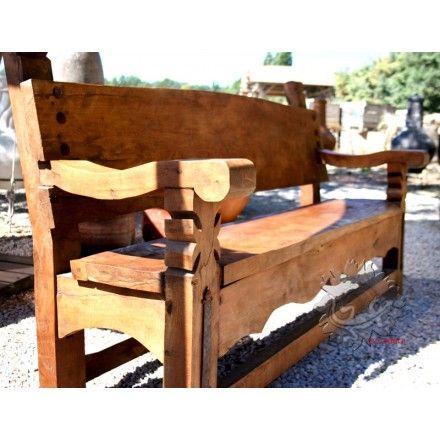 32 best Table et chaises, meuble mexicain images on Pinterest - banc en pierre pour jardin