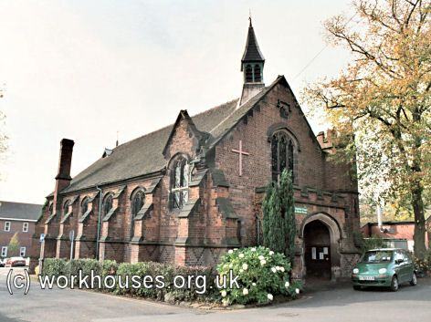 Stoke-upon-Trent workhouse, 2001