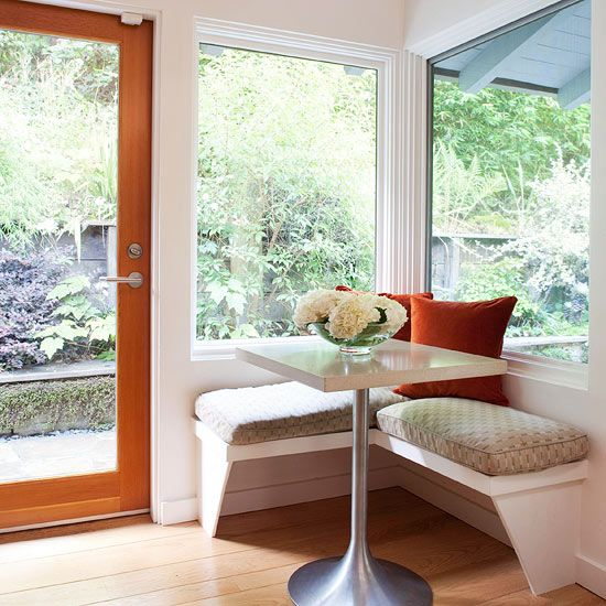 Kitchen Peninsula Banquette: Best 25+ Small Breakfast Nooks Ideas On Pinterest