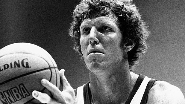 """""""John Wooden, my coach at UCLA, told me that to be a part of something special is a privilege, one that's earned every day, and it's not how good you are, it's how good your teammates are. """"-Bill Walton"""