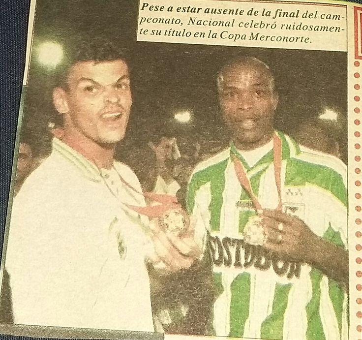 Miguel Calero Campeón Copa Merconorte. Cali 0 Nal 1( Neider Morantes( 89')  Diciembre 09 de 1998. Que Dios lo tenga en su gloria. Foto: Archivo personal.Leon Dario (@ldespinosa93) | Twitter