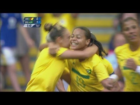 Football Women's Group E - Brazil v Cameroon Full Replay -- London 2012 Olympic Games
