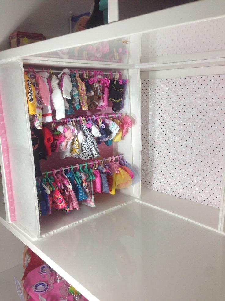 Closet Barbie House Barbie Accessories Dollhouse Furniture