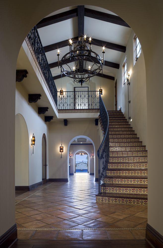 Foyer Ceiling Yoga : Covenant hills santa barbara style residence oatman