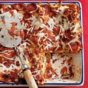 Baked Vegetable Lasagna | MyRecipes.com