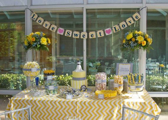 CHOOSE SIZE  TABLECLOTH yellow and white by FantasyVintageBridal, $49.00